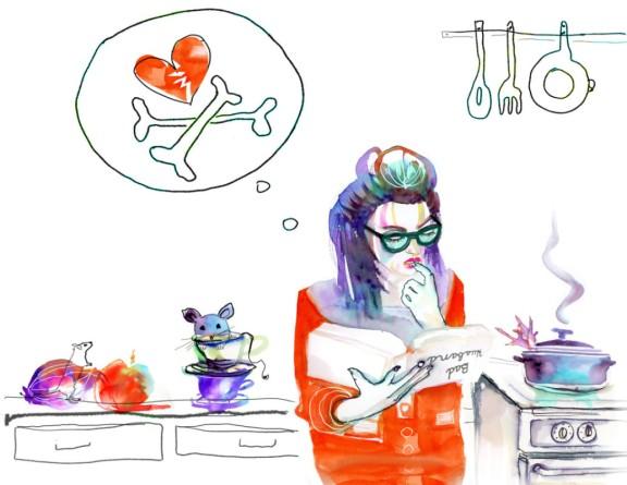 marta-spendowska-fashion-watercolor-illustration-portrait-cooking-for-bad-husbands1-e1362783802160