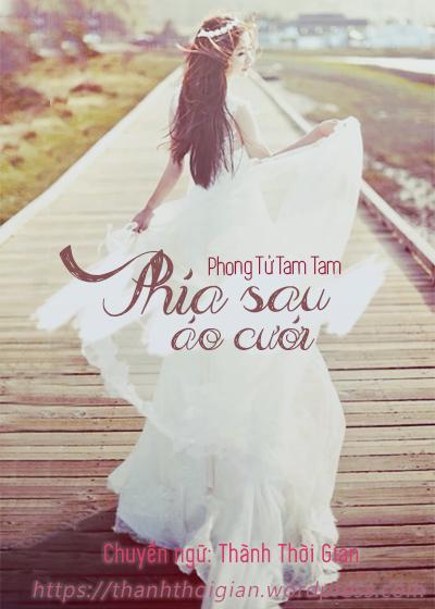 Phía sau áo cưới